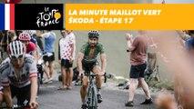 La minute Maillot Vert ŠKODA - Étape 17 - Tour de France 2018