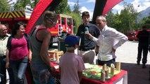 D!CI TV : Hautes-Alpes : les vacanciers sensibilisés au risque des feux de forêt à Embrun