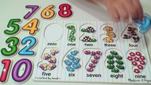 Learn to Count Numbers 0 9 | Numbers Counting For Babies, Toddlers | Preschool Learning