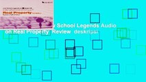 New Releases Law School Legends Audio on Real Property  Review  deskripsi