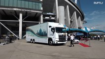 Japanese mobile mosque gears up for global sporting events