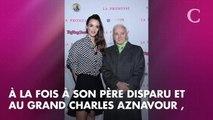 """PHOTO. """"Le père spirituel de mon père"""" : le tendre cliché de Laura Smet et Charles Aznavour"""