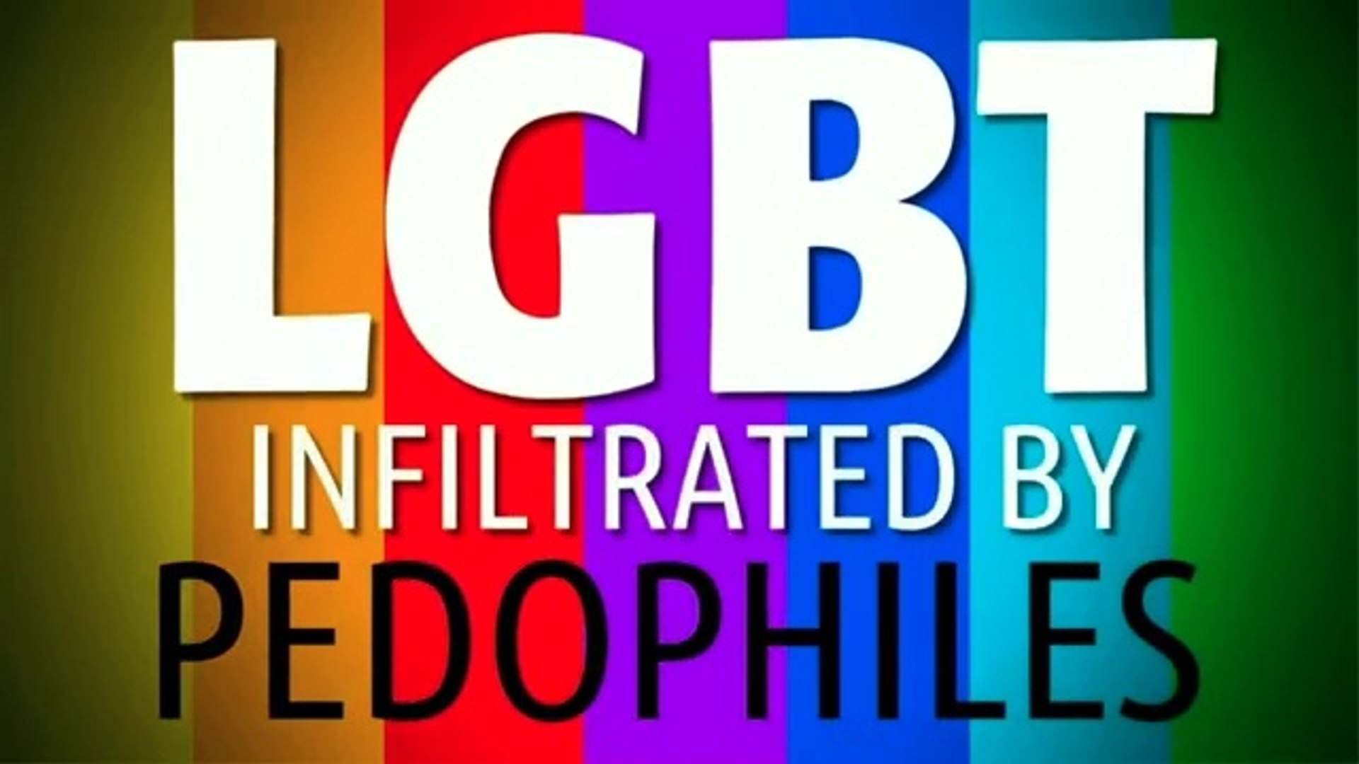 LGBT Infiltrated By Pedophiles [360p]