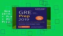 New Releases GRE Prep 2019: Practice Tests + Proven Strategies + Online (Kaplan Test Prep)  For