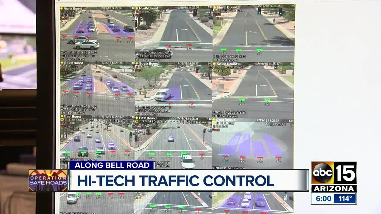 Bell Road gets high-tech traffic control