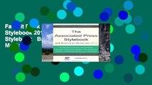 Favorit Book  The Associated Press Stylebook 2013 (Associated Press Stylebook   Briefing on Media