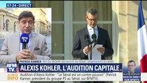 """Le sénateur PS Patrick Kanner a dénoncé """"un dysfonctionnement personnifié par Alexandre Benalla"""""""