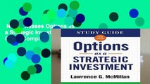 New Releases Options as a Strategic Investment Study Guide Complete