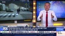 Frédéric Simottel: Des passages piétons en 3D pour ralentir les véhicules - 26/07