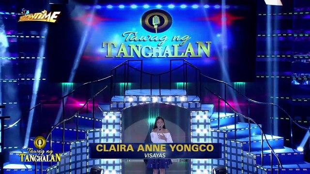 Tawag ng Tanghalan: Claire Anne Yongko | How Could You Say You Love Me