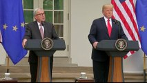 US-EU trade: Trump promises not to impose new tariffs
