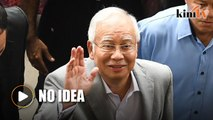 I don't know about it, says Najib on CIA letter