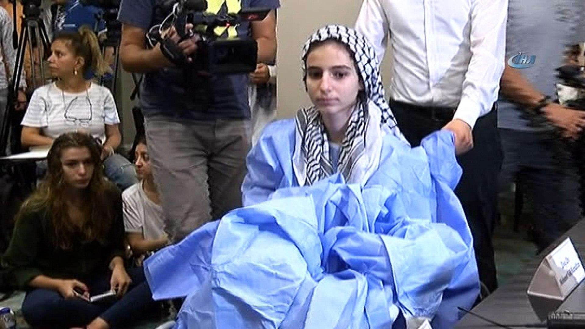 Gazze'de İsrail askerleri tarafından vurulan Meryem, İstanbul'da tedavi edildi
