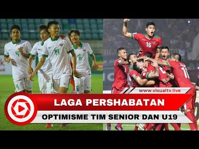 Jelang Laga Indonesia Vs Kamboja, Optimisme Pemain Junior dan Senior