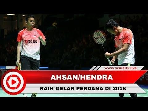 Mohammad Ahsan/Hendra Setiawan Raih Gelar Perdana pada 2018 di Kuala Lumpur