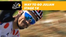 Hé salut Julian Alaphilippe ! / Way to go Julian! - Étape 18 / Stage 18 - Tour de France 2018