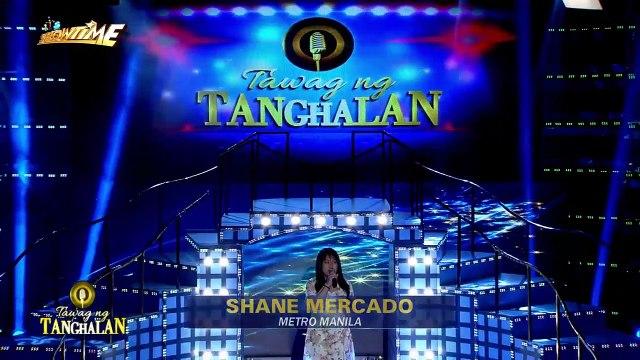 Tawag ng Tanghalan: Shane Marcado | If Only