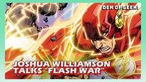 Joshua Williamson Talks The Future of The Flash