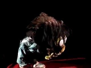 Marionnette Albert