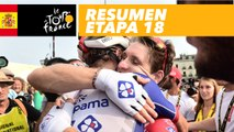Resumen - Etapa 18 - Tour de France 2018