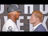 Anthony Joshua vs Alexander Povetkin FACE OFF | Matchroom Boxing