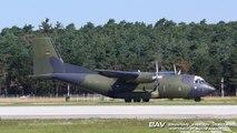 Transall C-160D ESS - German Air Force 50+76 - takeoff at Manching Air Base [2160p25]