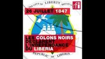 26 juillet 1847: les colons noirs venus des Etats-Unis déclarent l'indépendance du #Liberia #Afrique
