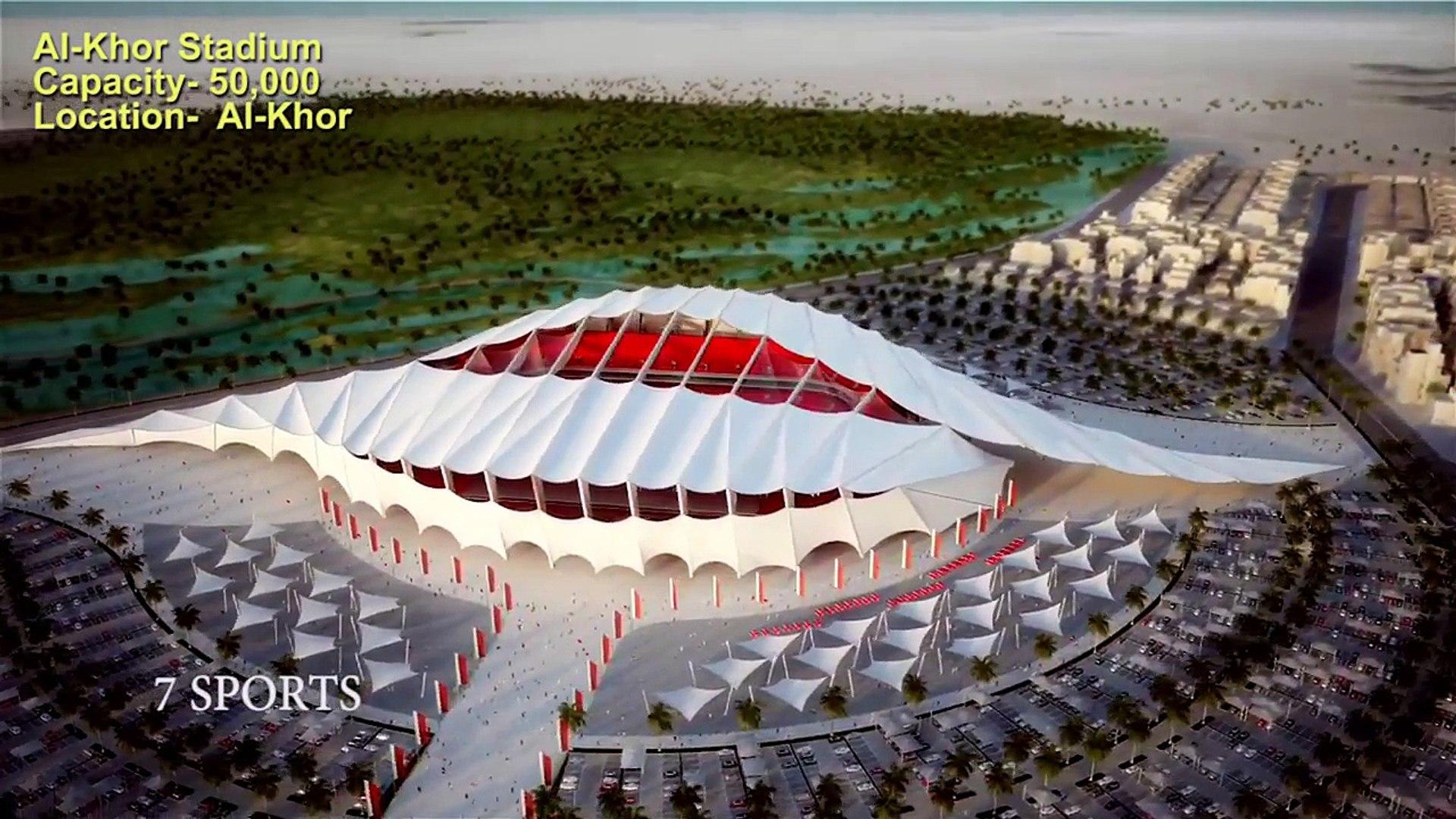 Al Khor Stadium - Qatar World Cup 2022