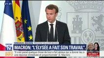 """Macron ne croit pas que la motion de censure pourra """"sanctionner le gouvernement d'Édouard Philippe"""""""