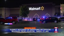 Man Charged with Shooting Officer at North Carolina Walmart Jailed on $1M Bond