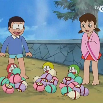 Doraemon - Os Minidoras e os ovos termais