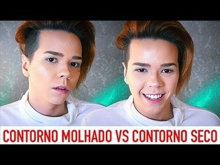 PELE COMPLETA - CONTORNO MOLHADO vs CONTORNO SECO + ILUMINAÇAO / Por Kassyano Lopez