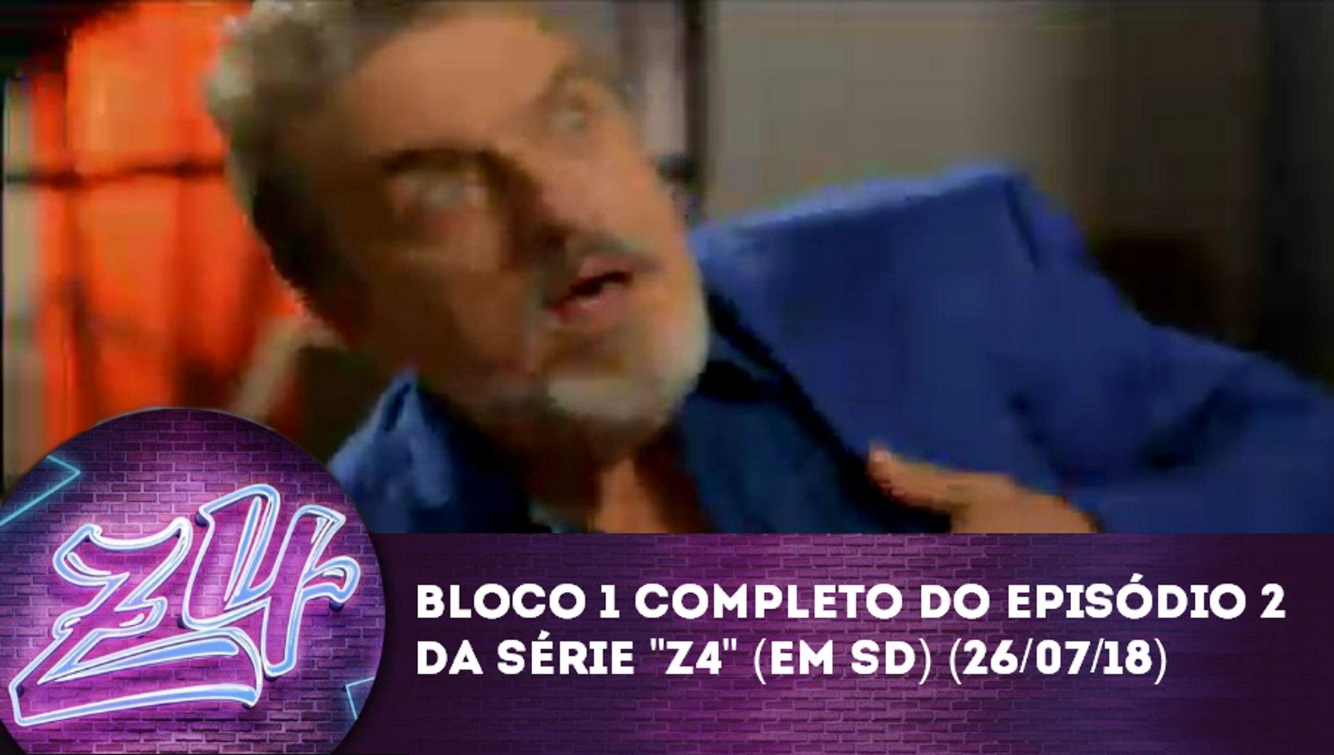 Bloco 1 completo da série Z4 - Episódio 2 no SBT (SD) (26/07/18)