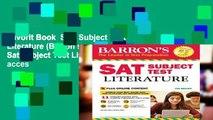 Favorit Book  SAT Subject Test Literature (Barron s Sat Subject Test Literature) Unlimited acces