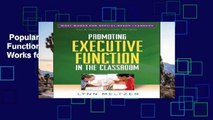 Popular  Promoting Executive Function in the Classroom (What Works for Special-Needs Learners)