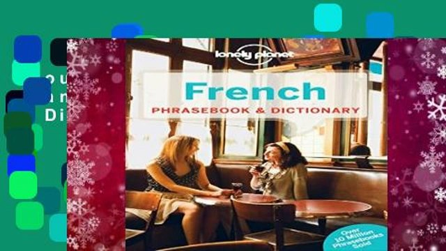 About For Books  Lonely Planet French Phrasebook   Dictionary  Any Format