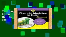 Trial Ebook  Financial Modeling in Excel For Dummies (For Dummies (Lifestyle)) Unlimited acces