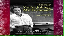 """New Releases """"Surely You re Joking, Mr. Feynman!"""": Adventures of a Curious Character  Review"""