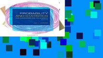 EBOOK Reader The Probability and Statistics for Engineering and the Sciences Unlimited acces Best