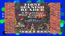 New Releases First Spanish Reader (Dover Dual Language Spanish)  Any Format