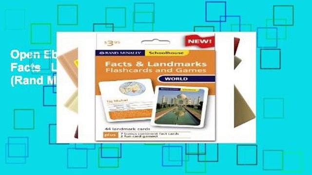 Open Ebook Schoolhouse World Facts   Landmarks Flashcards a (Rand McNally Schoolhouse) online