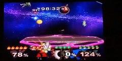 Super Smash Bros. Melee: Green Team Vs. Red Team!