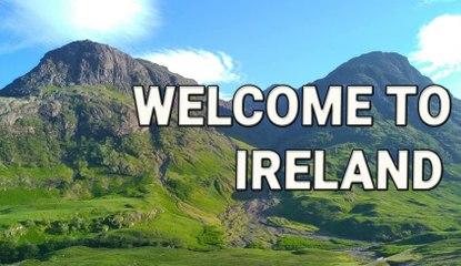 WELCOME TO IRELAND / BIENVENUE EN IRLANDE