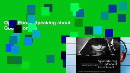 Open Ebook Speaking about Godard online