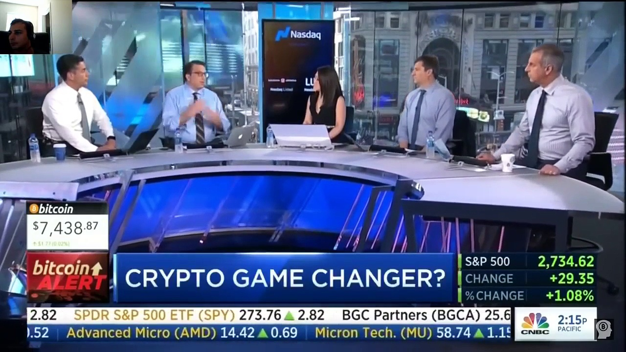 Cryptocurrency News:   Bitcoin Game Changer coming!!   CNBC Fast Money