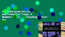 Unlimited acces Art Direction and Production Design: A Modern History of Filmmaking (Behind the