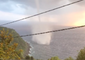 Waterspout Sweeps Along Italian Coast