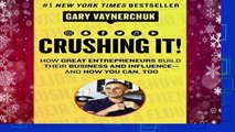 New Releases Crushing It!: How Great Entrepreneurs Build Their Business and Influence-and How You