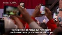 Trump vante sa politique commerciale, les Européens sceptiques