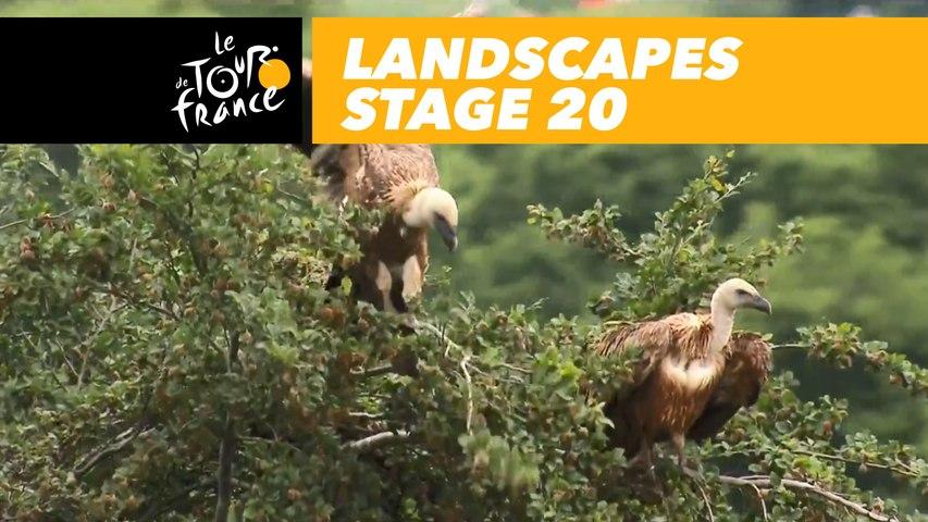 Paysages du jour / Landscapes of the day - Étape 20 / Stage 20 - Tour de France 2018